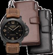 Портмоне Baellerry Business + подарок часы Luminor Panerai
